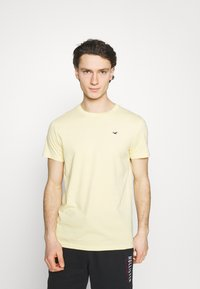Hollister Co. - 7 Pack - T-shirt basique - white/soft red/orange/yellow/turquise/blue - 4