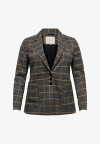 ONLY Carmakoma - Blazer - gold/blue - 4