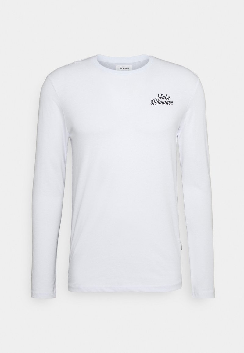 YOURTURN - UNISEX - Långärmad tröja - white