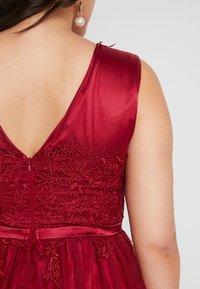 Swing Curve - DRESS - Koktejlové šaty/ šaty na párty - rot - 5