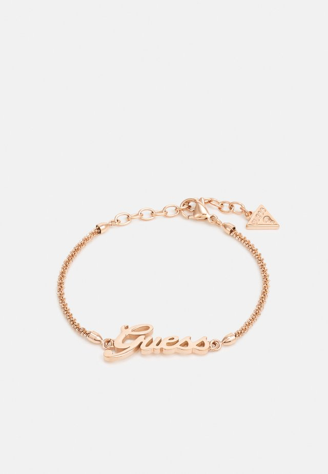 LOGO POWER - Armband - rose gold-coloured