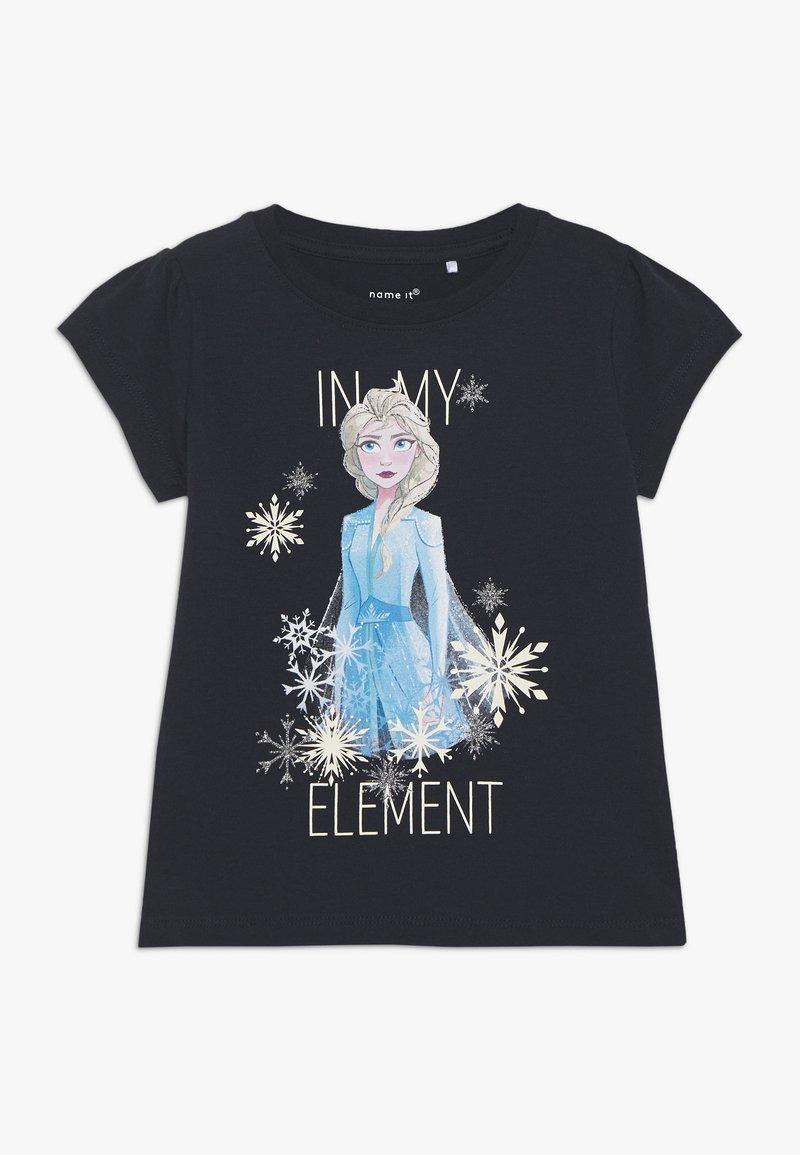 Name it - NKMFROZEN TEA - Print T-shirt - dark sapphire