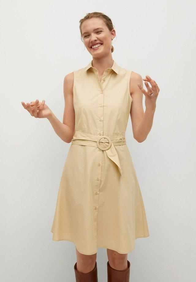 CRIS-H - Shirt dress - beige