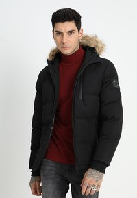 Brave Soul - TRAIL - Winter jacket - black - 0