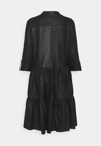 DEPECHE - DRESS - Shirt dress - black - 1