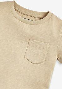 Next - SHORT SLEEVE - Basic T-shirt - tan - 2