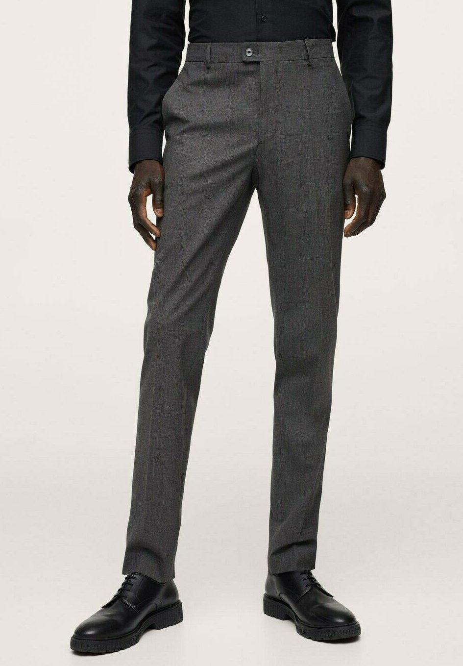 Men SLIM FIT - Suit trousers