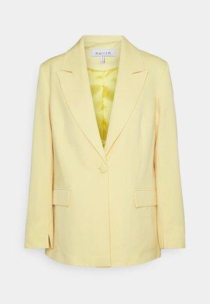 SINGLE BREASTED - Krátký kabát - yellow