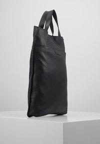 Zign - UNISEX LEATHER - Shopping bags - black - 2