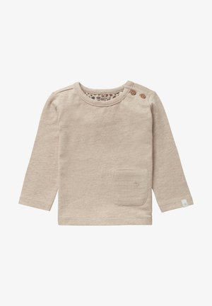 HAPPY LITTLE ONE - Long sleeved top - sand melange