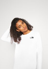 The North Face - GEODOME TEE - Langærmede T-shirts - white - 3