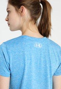 Under Armour - TECH TWIST - Camiseta de deporte - blue circuit / metallic silver - 5