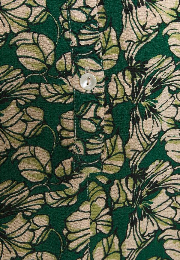 by-bar BO BLOUSE - Bluzka - evergreen/zielony UBHL