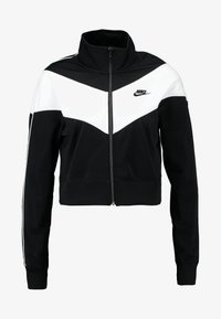 Nike Sportswear - W NSW HRTG TRCK JKT PK - Chaqueta de entrenamiento - black/white - 4