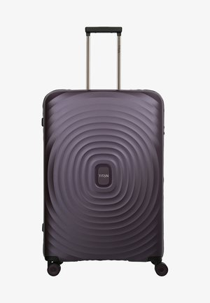 LOOPING - Wheeled suitcase - purple