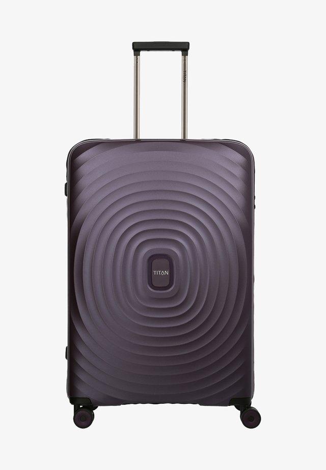 LOOPING - Wheeled suitcase - purple