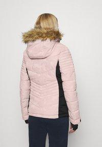 Superdry - SNOW LUXE PUFFER - Skijakke - pink - 2