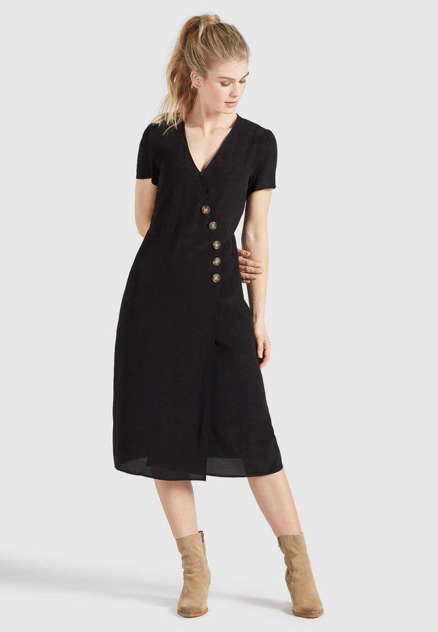 PORGY - Korte jurk - schwarz