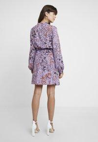 Liu Jo Jeans - ABITO SHORT DRESS - Skjortklänning - purple - 2