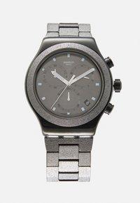 Swatch - IRONY GOLDSHINY - Kronografklockor - black - 0