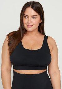Zizzi - Bikini top - black - 2