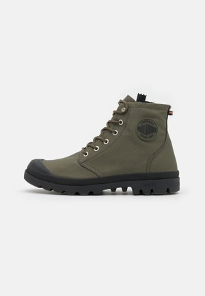 PAMPA RCYCL LT WP UNISEX - Lace-up ankle boots - olive night