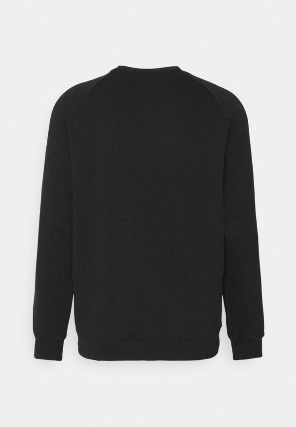 adidas Originals 3 STRIPES CREW UNISEX - Bluza - black/czarny Odzież Męska LKJQ