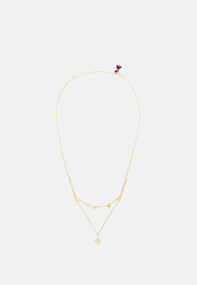 TWINKLE LAYERED NECKLACE - Kaulakoru - gold-coloured
