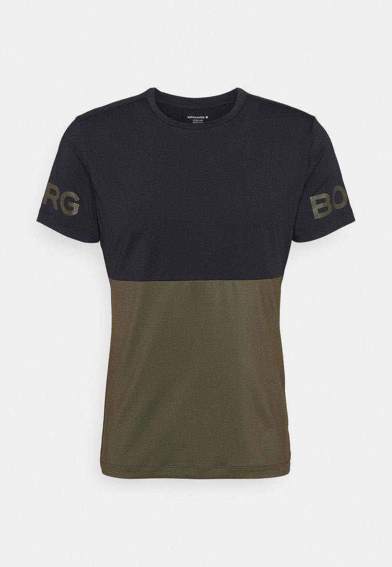 Björn Borg - SPORTS ACADEMY  - Sports shirt - black beauty