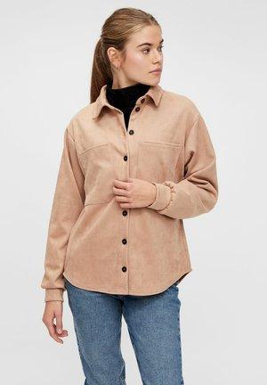 Summer jacket - warm taupe
