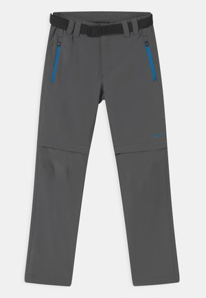 BOY ZIP OFF 2-IN-1 - Outdoor trousers - grey regata