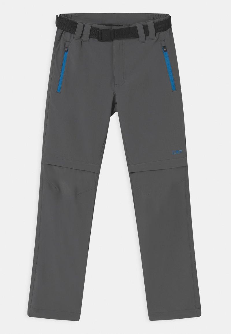 CMP - BOY ZIP OFF 2-IN-1 - Outdoor trousers - grey regata