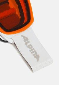 Alpina - NAKISKA UNISEX - Occhiali da sci - white/pink matt - 4