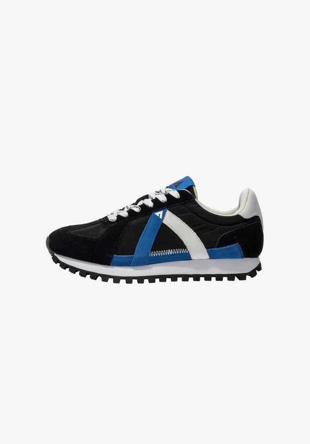 GATE GAT003 - SNEAKER LOW - Sneakers laag - black blue white