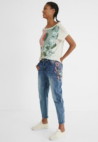 Desigual - Relaxed fit jeans - blue - 1