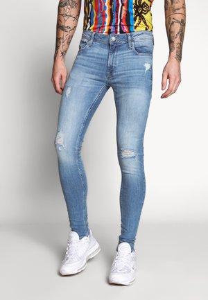 JJITOM JJORIGINAL - Jeansy Skinny Fit - blue denim