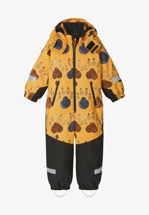 KURIKKA - Snowsuit - orange yellow