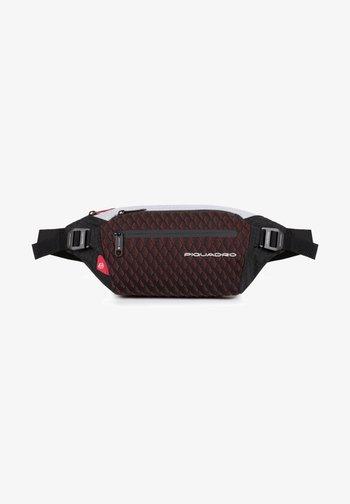 Bum bag - grey-red