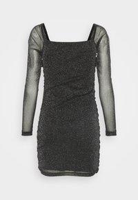 Nly by Nelly - SPARKLE MINI DRESS - Cocktail dress / Party dress - black - 1