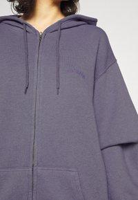 BDG Urban Outfitters - ZIP THROUGH HOODIE - Sweatjacke - lilac - 3
