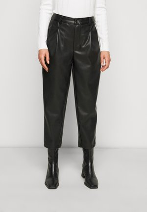 NMCHIKA ANKEL PANTS  - Trousers - black
