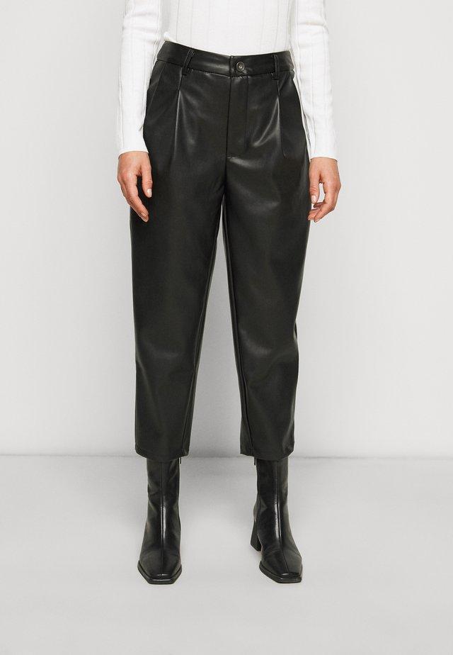 NMCHIKA ANKEL PANTS  - Pantaloni - black