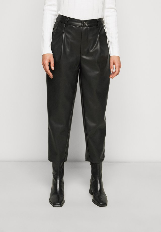 NMCHIKA ANKEL PANTS  - Kalhoty - black