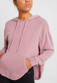 Free People - BACK INTO IT HOODIE - Luvtröja - pink - 4