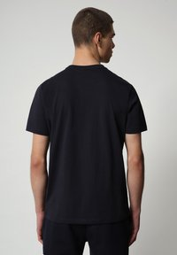 Napapijri - SALLAR - T-shirt med print - blu marine - 1