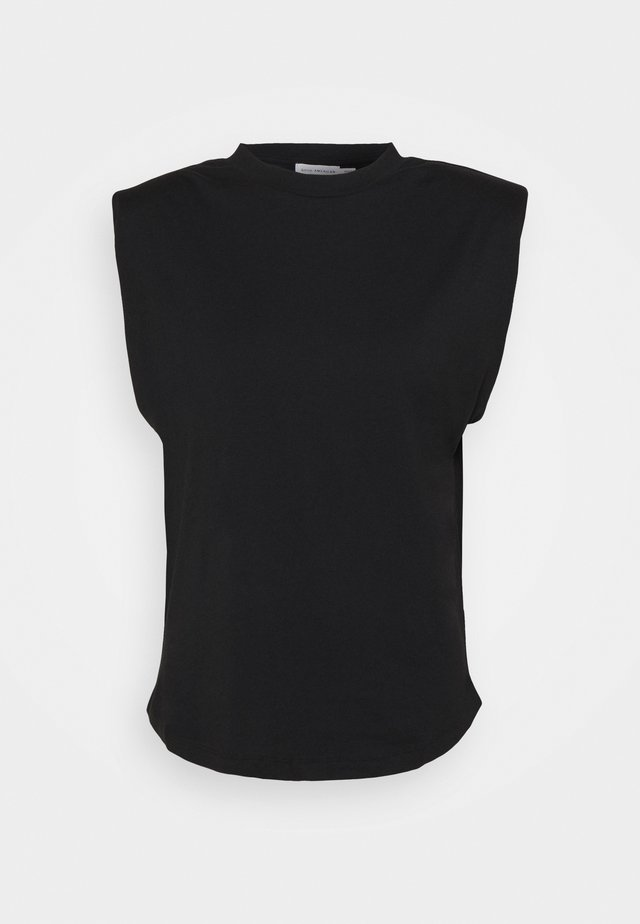 STRONG SHOULDER TANK - T-shirt basic - black