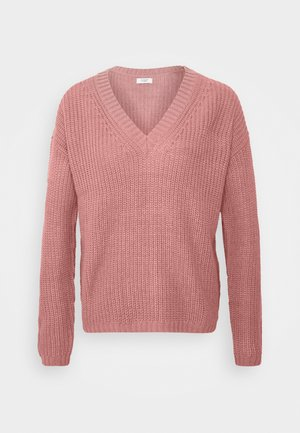 JDYLIMONE V NECK - Jumper - nostalgia rose
