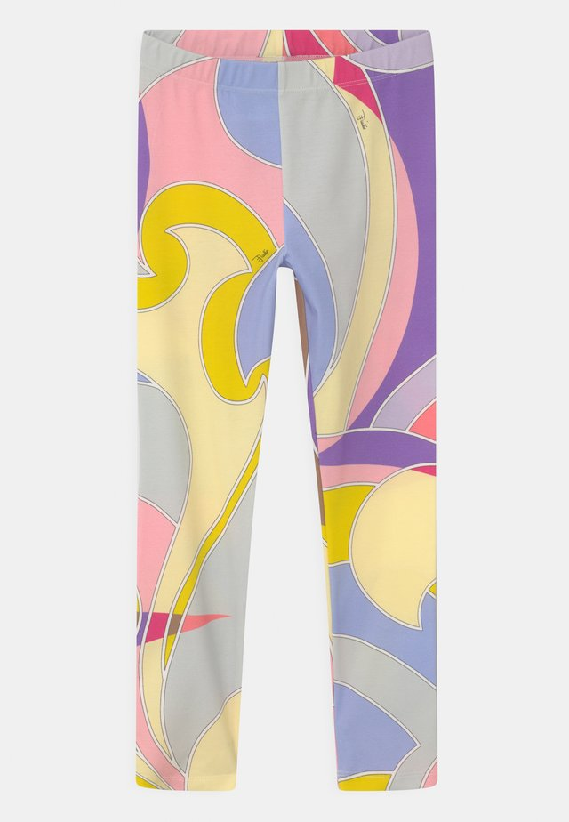 Legging - giallo/viola