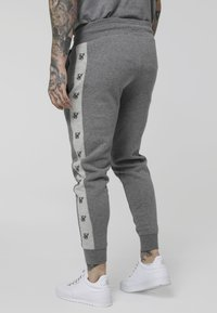SIKSILK - MUSCLE FIT JOGGER - Trainingsbroek - grey marl/snow marl - 2