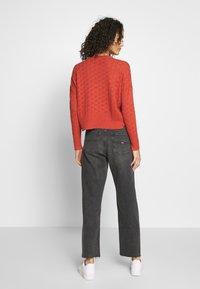 Tommy Jeans - HARPER - Straight leg jeans - black denim - 2